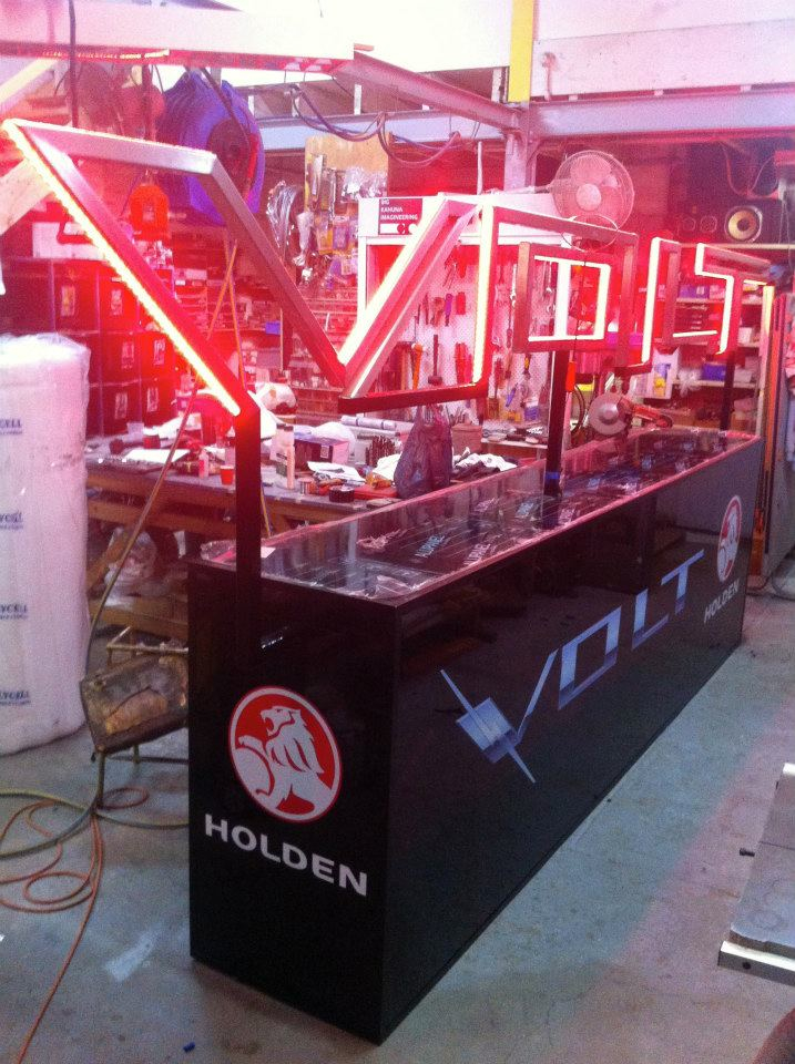 Holden Volt Interactive Installation for Product Launch