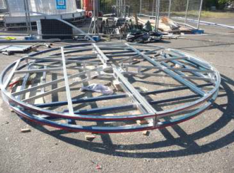 HondaTrope Steel Base