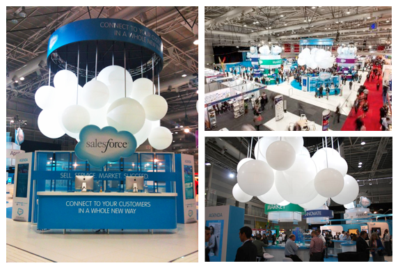 Exhibition Stand Design Agency : The cloud at cebit big kahuna imagineering
