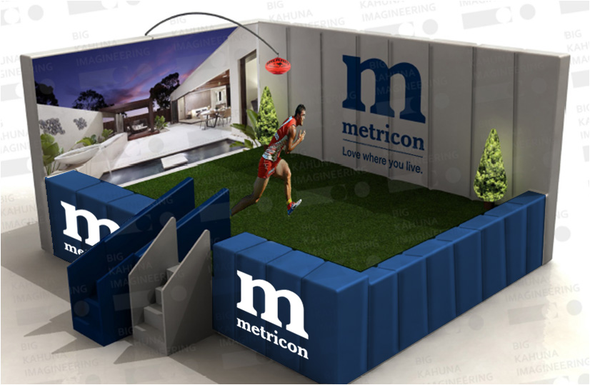 Metricon Marks Activation