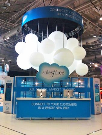 Salesforce Exhibition Display Big Kahuna Imagineeringbig