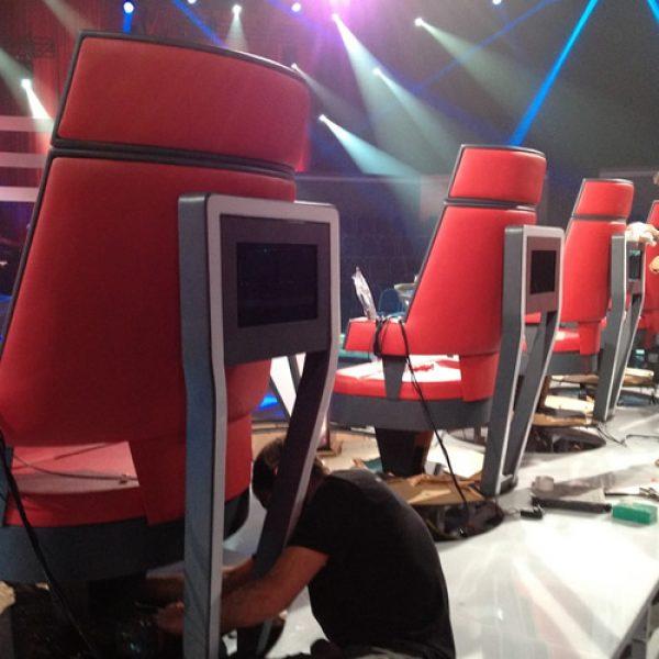 The Voice Australia Chairs - Big Kahuna Imagineering
