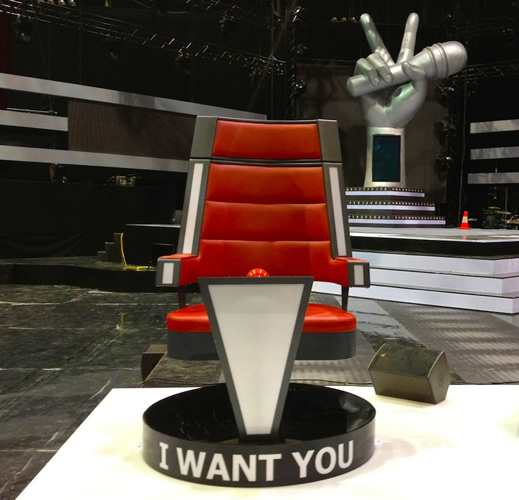 The Voice Australia Chairs Big Kahuna Imagineeringbig
